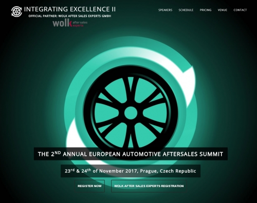 INTEGRATING EXCELLENCE - DER ZWEITE EUROPAWEITE AUTOMOTIVE AFTERMARKET SUMMIT IN PRAG 2017