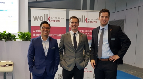 Wolk After Sales Experts opens the China office