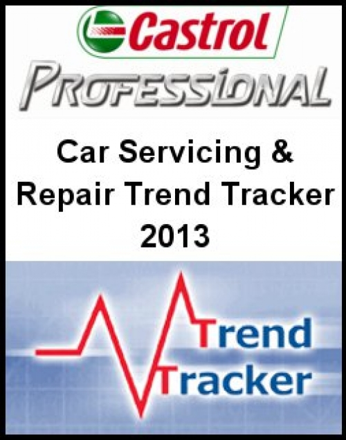 Car Servicing and Repair Trend Tracker 2013